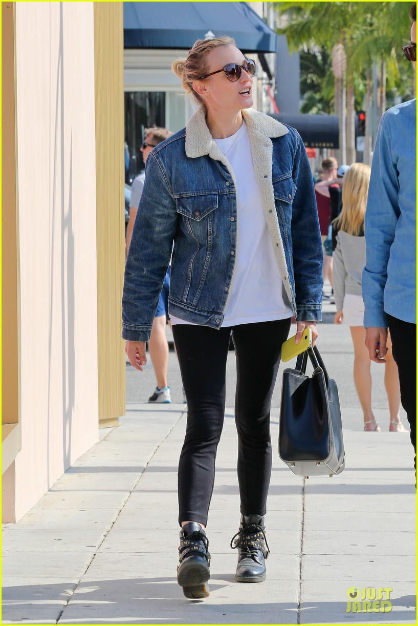 diane kruger prepares for fall with denim jacket 082969816