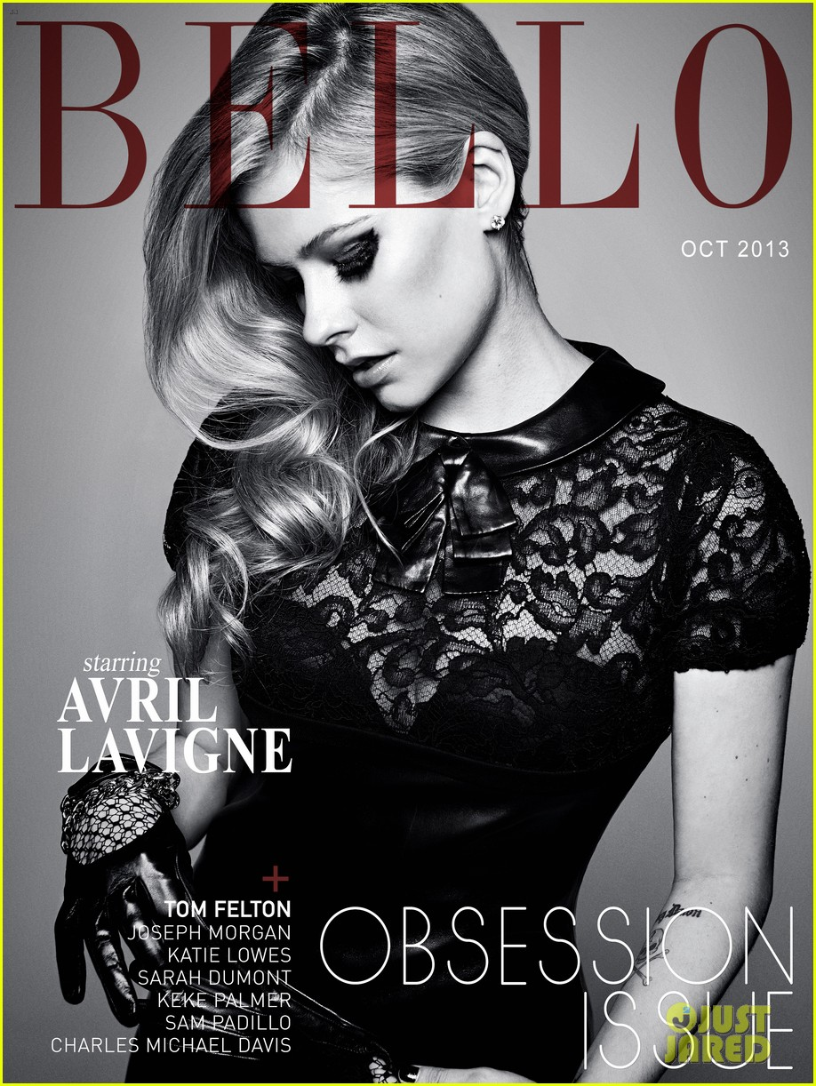 avril lavigne covers bello magazine october 2013 052971330