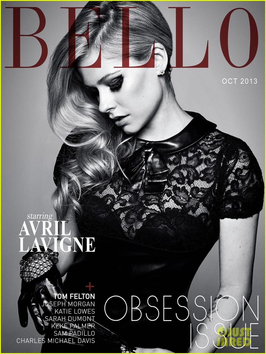 avril lavigne covers bello magazine october 2013 05