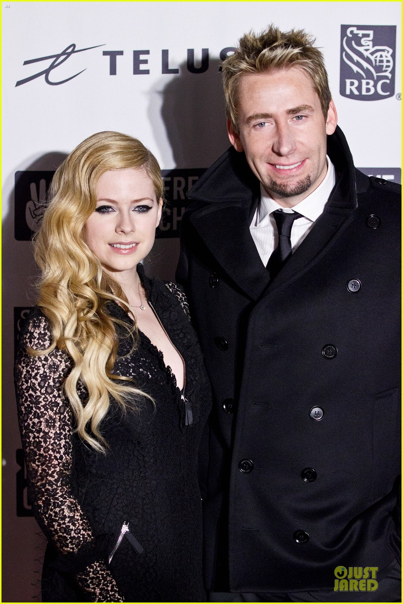avril lavigne chad kroeger we day couple in vancouver 022974729