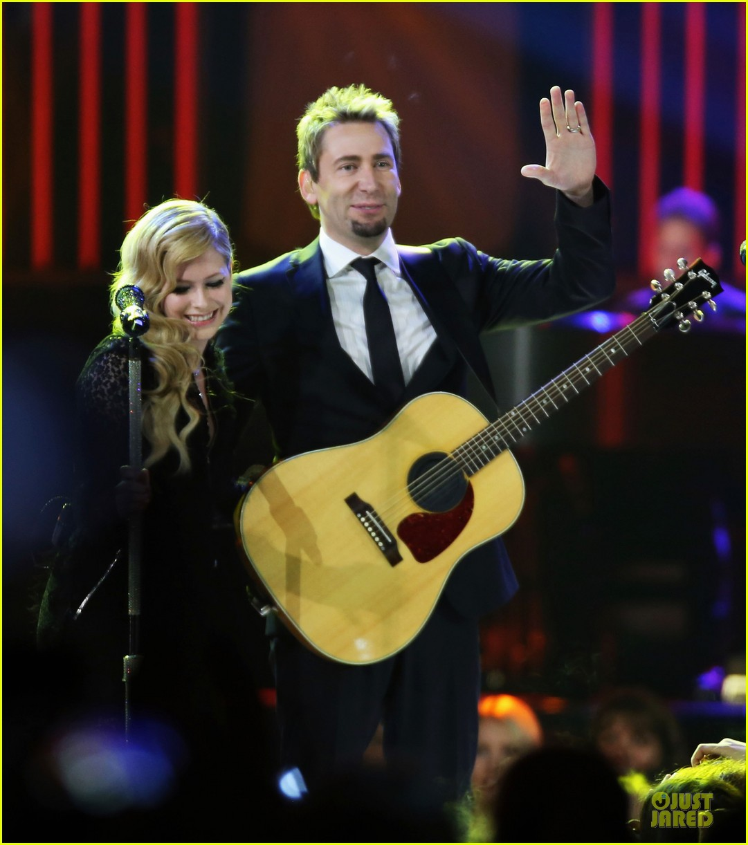 avril lavigne chad kroeger we day couple in vancouver 052974732