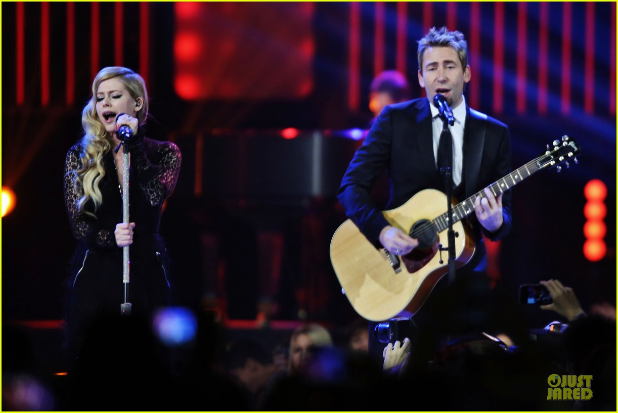 avril lavigne chad kroeger we day couple in vancouver 092974736