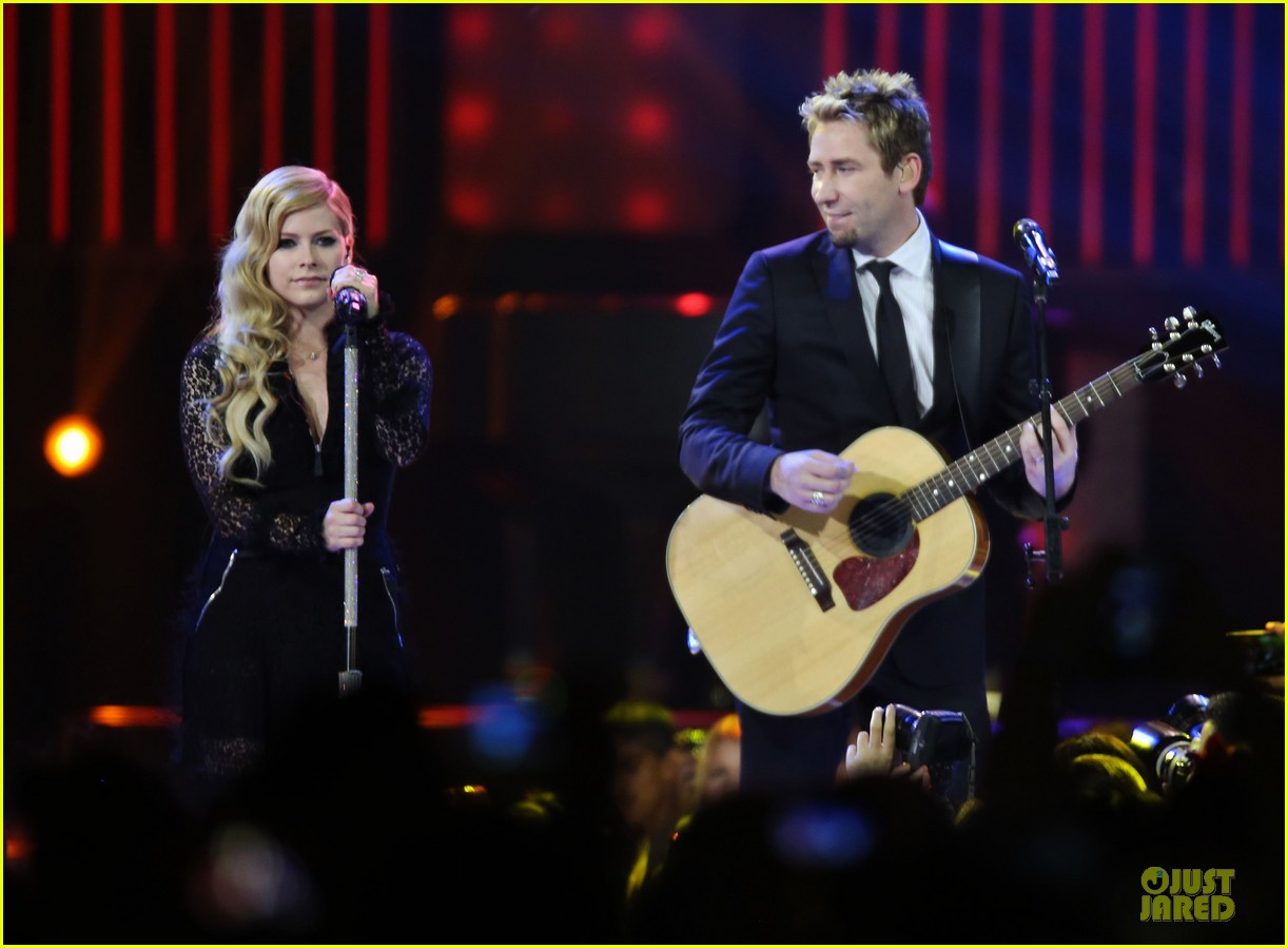 avril lavigne chad kroeger we day couple in vancouver 102974737