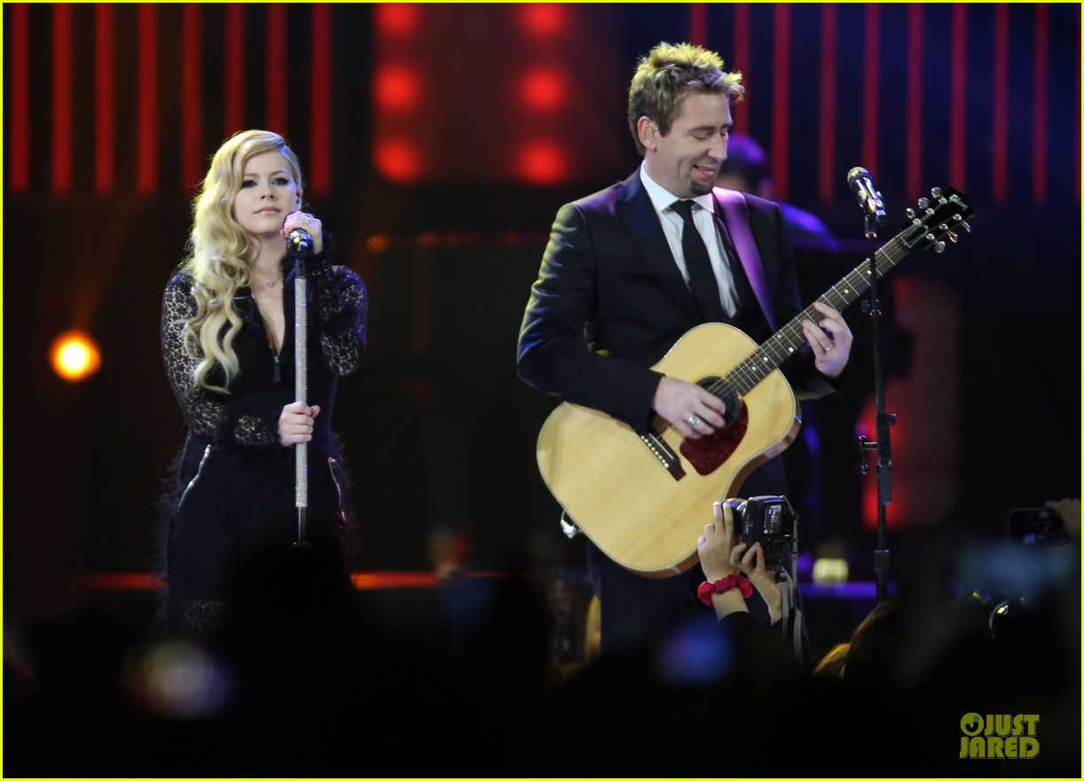 avril lavigne chad kroeger we day couple in vancouver 112974738
