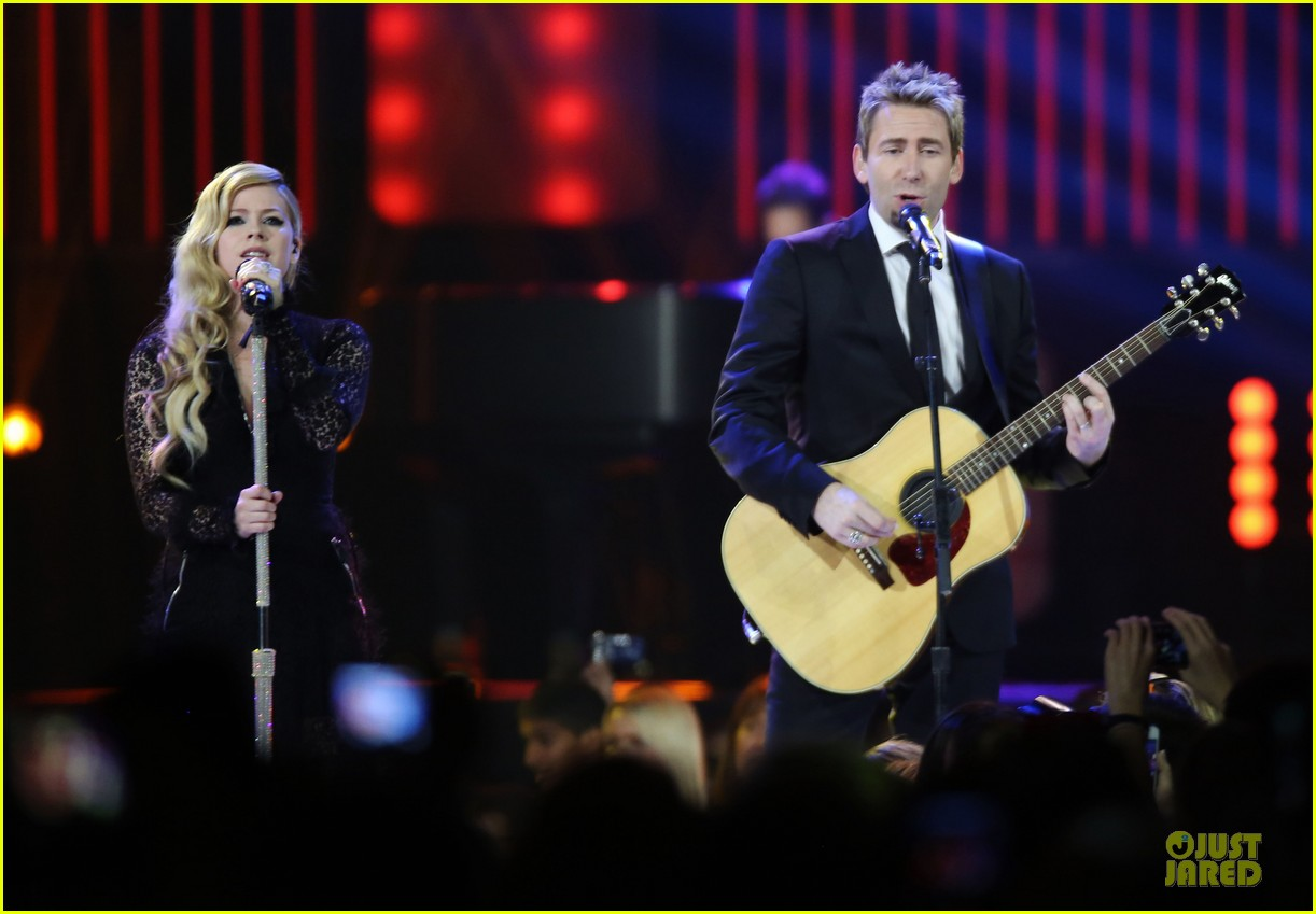 avril lavigne chad kroeger we day couple in vancouver 122974739