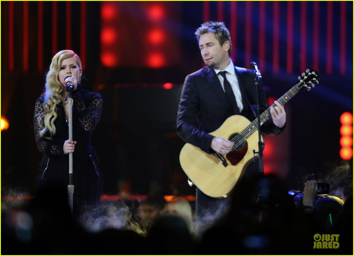 avril lavigne chad kroeger we day couple in vancouver 142974741