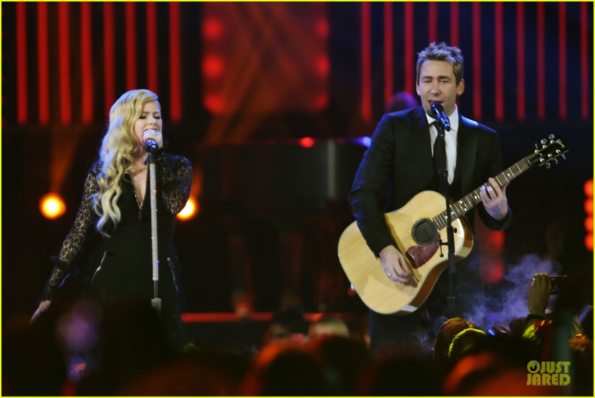 avril lavigne chad kroeger we day couple in vancouver 162974743