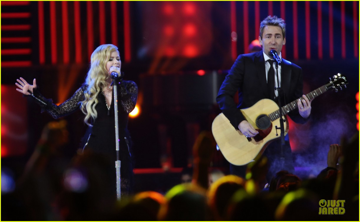 avril lavigne chad kroeger we day couple in vancouver 172974744