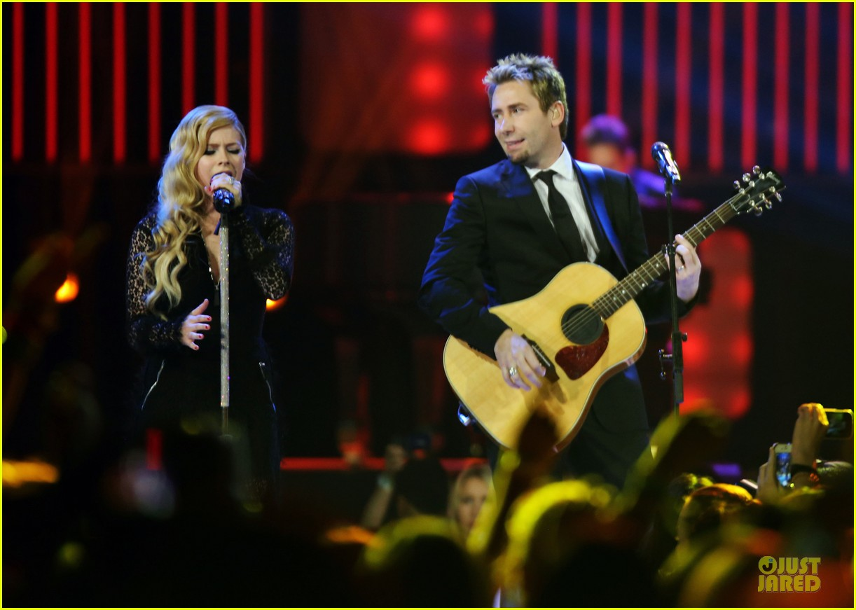avril lavigne chad kroeger we day couple in vancouver 202974747