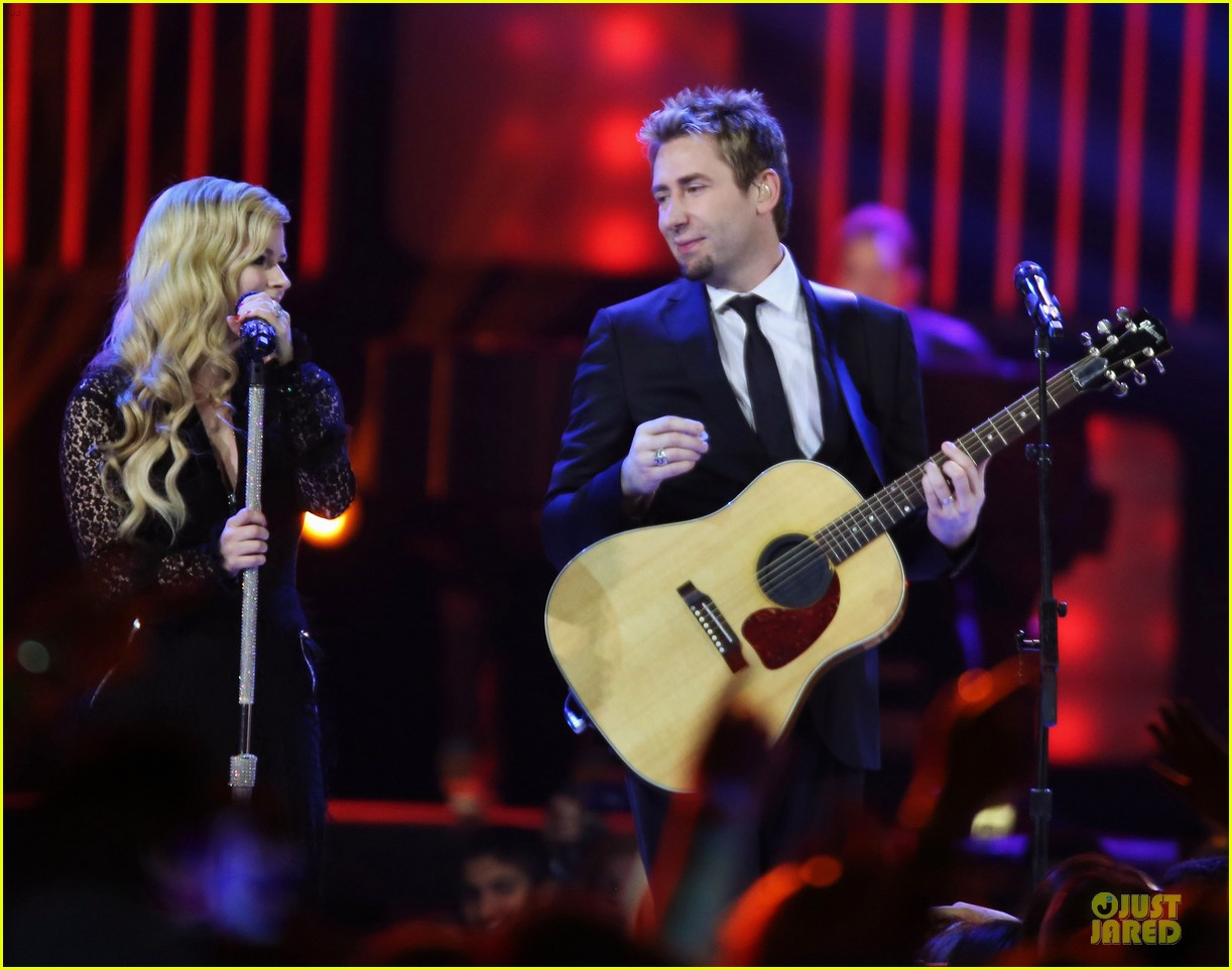 avril lavigne chad kroeger we day couple in vancouver 212974748