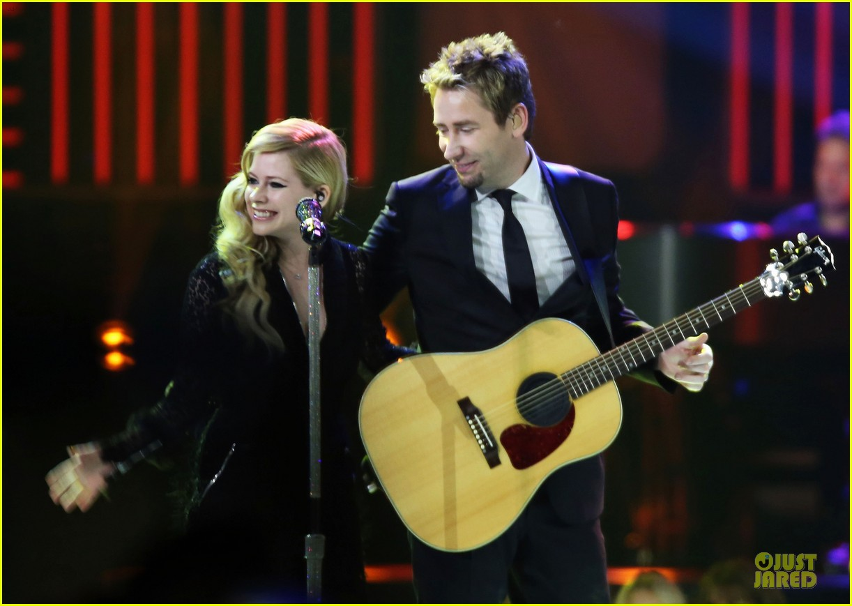 avril lavigne chad kroeger we day couple in vancouver 222974749