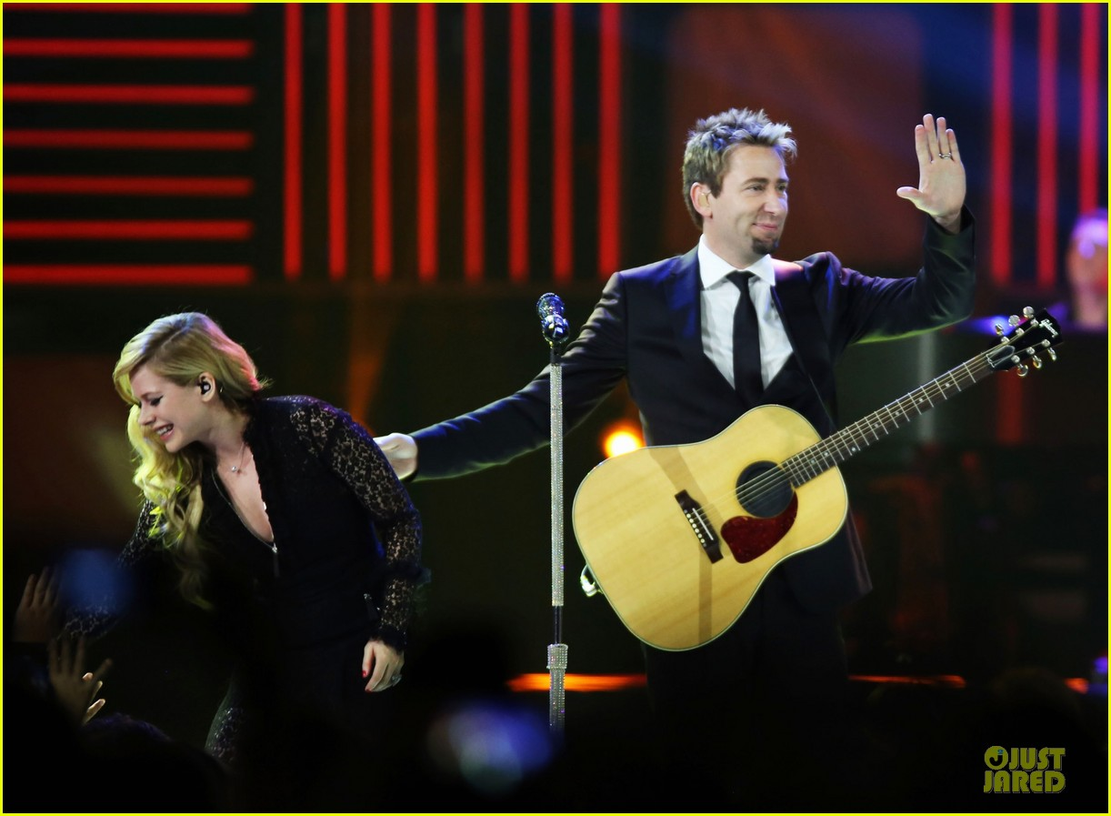 avril lavigne chad kroeger we day couple in vancouver 232974750
