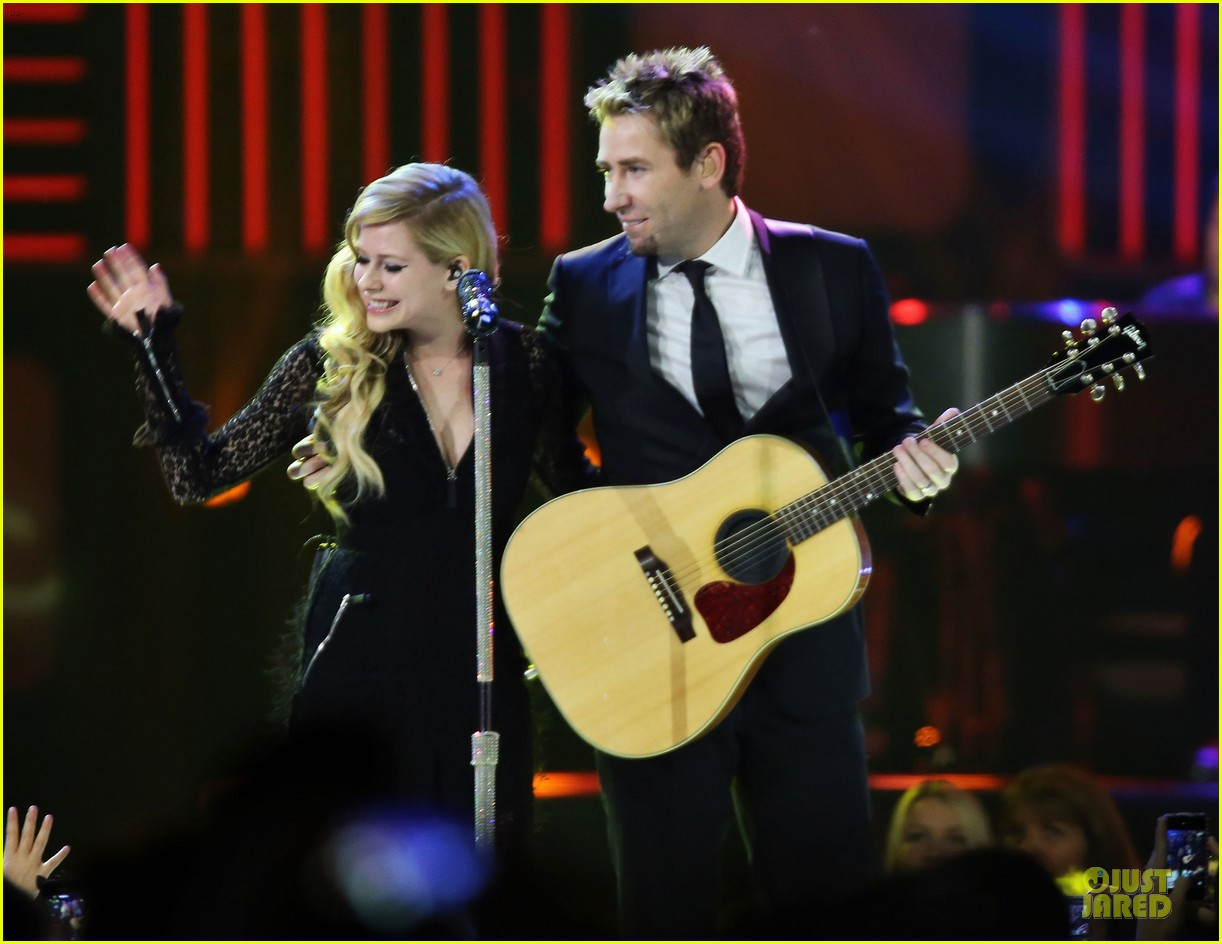 avril lavigne chad kroeger we day couple in vancouver 242974751