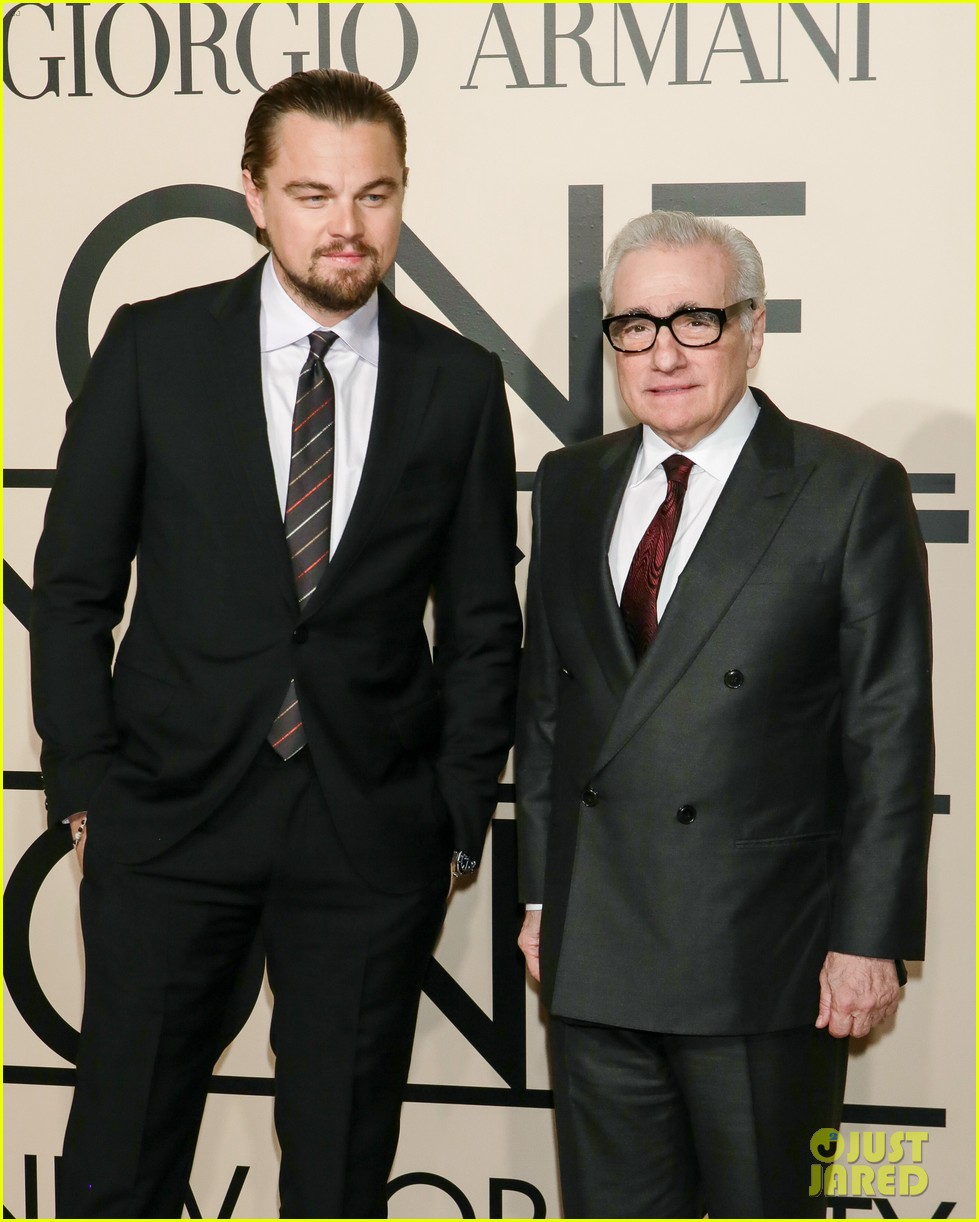 leonardo dicaprio hilary swank georgio armani one night only nyc 062978829