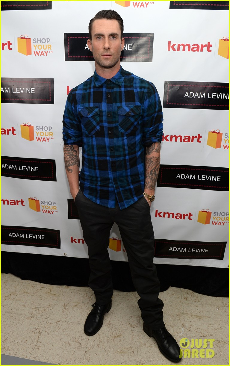 adam levine launches new mens collection for kmart 012981717