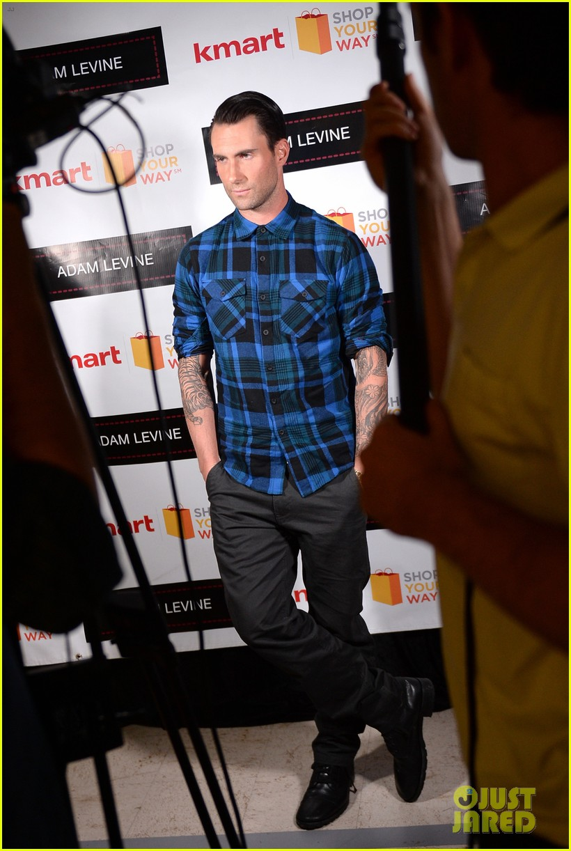 adam levine launches new mens collection for kmart 052981721