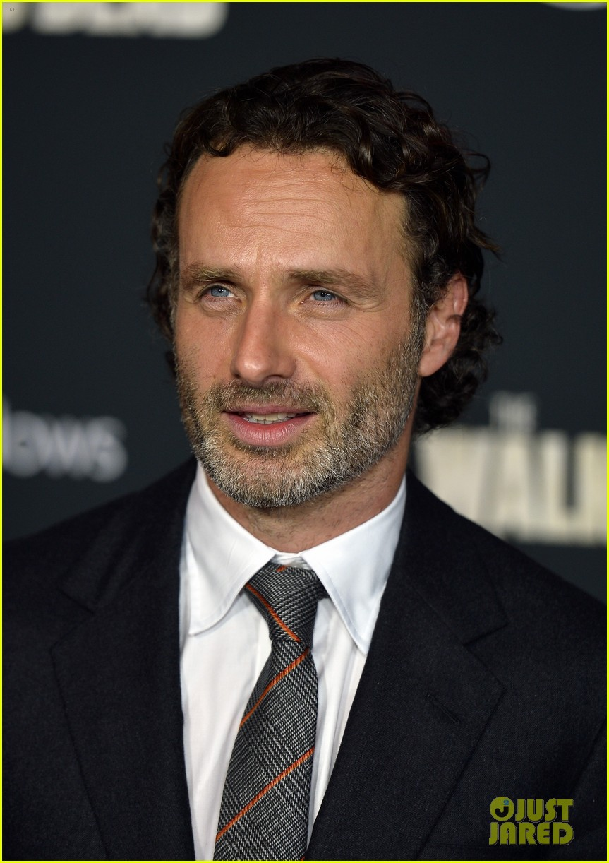 andrew lincoln norman reedus walking dead premiere 082965599