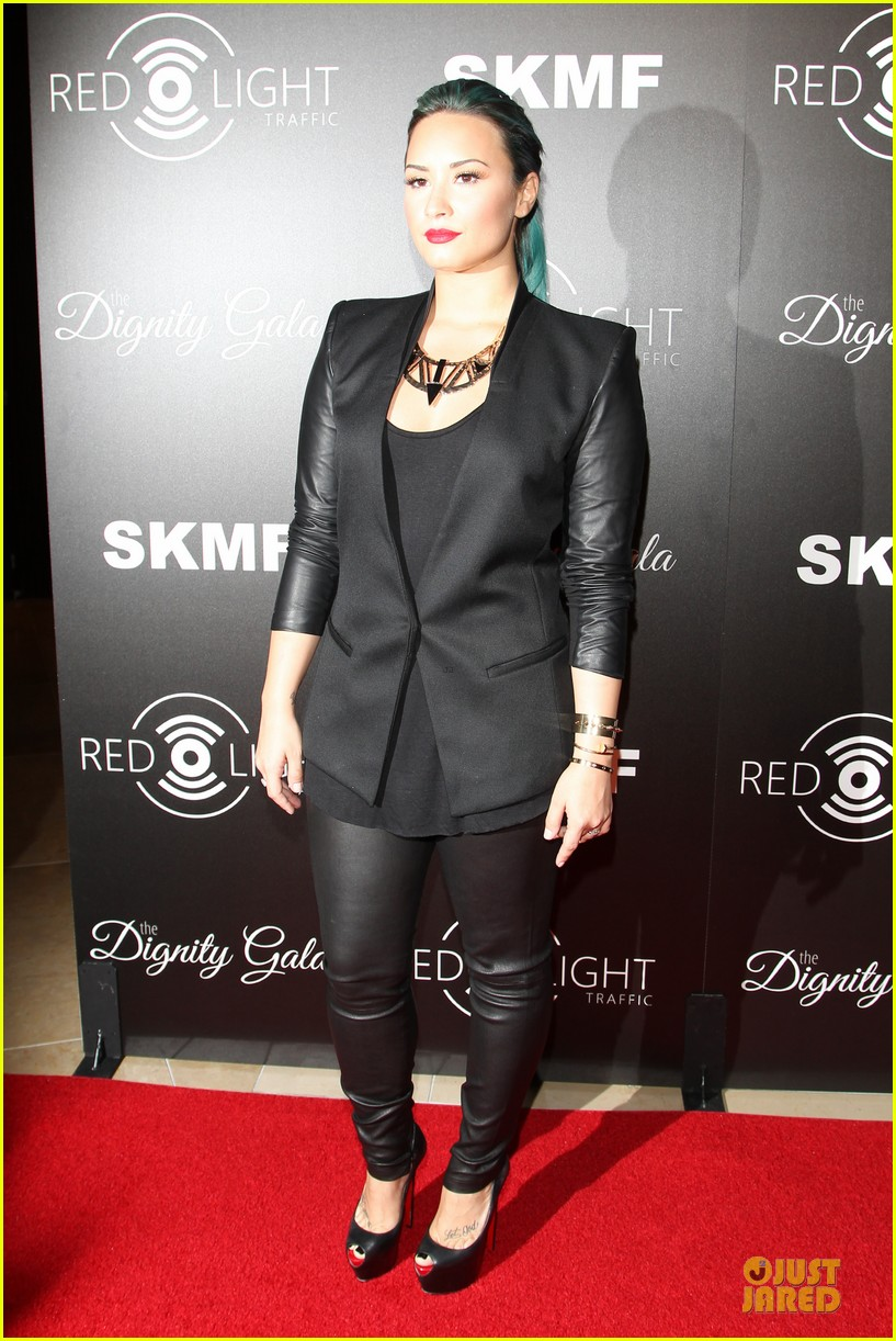 demi lovato redlight traffic app launch 062974770