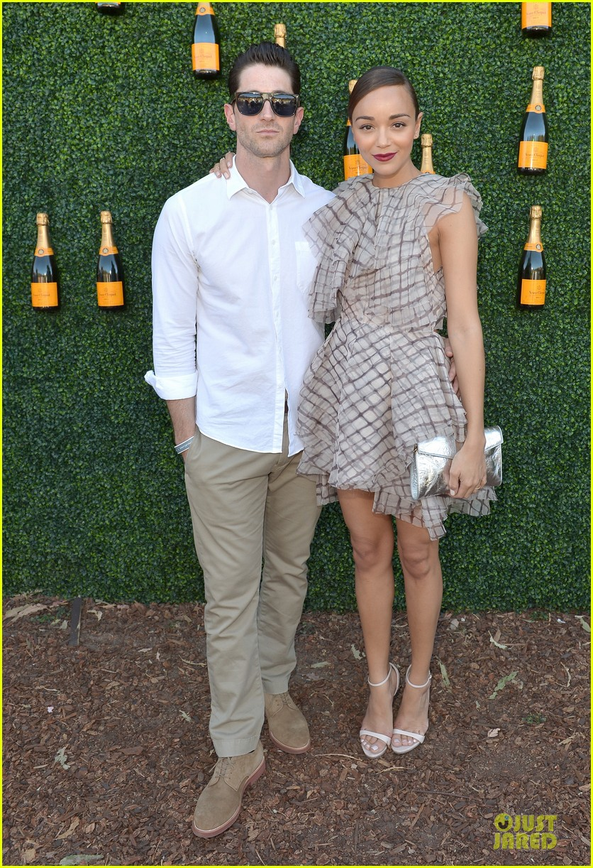 ashley madekwe holland roden veuve clicquot polo classic 2013 012966931