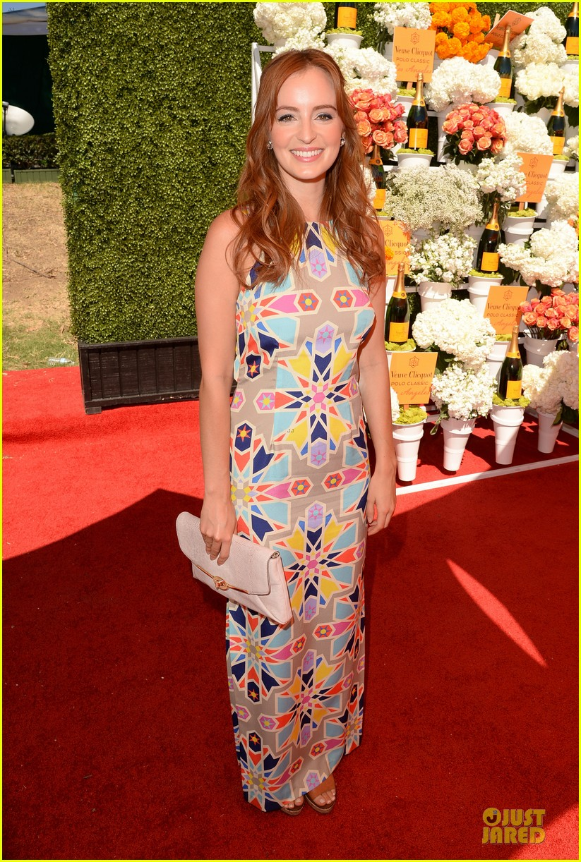ashley madekwe holland roden veuve clicquot polo classic 2013 032966933
