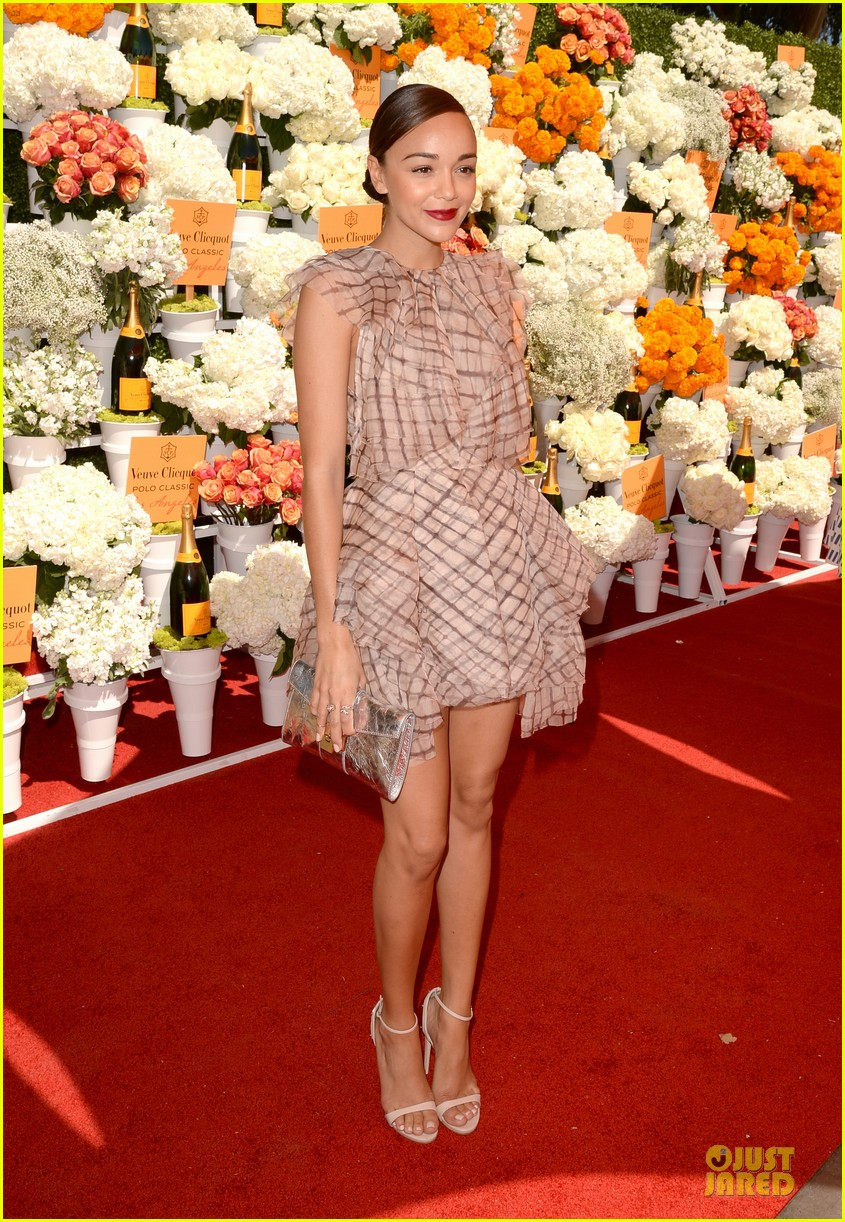 ashley madekwe holland roden veuve clicquot polo classic 2013 082966938