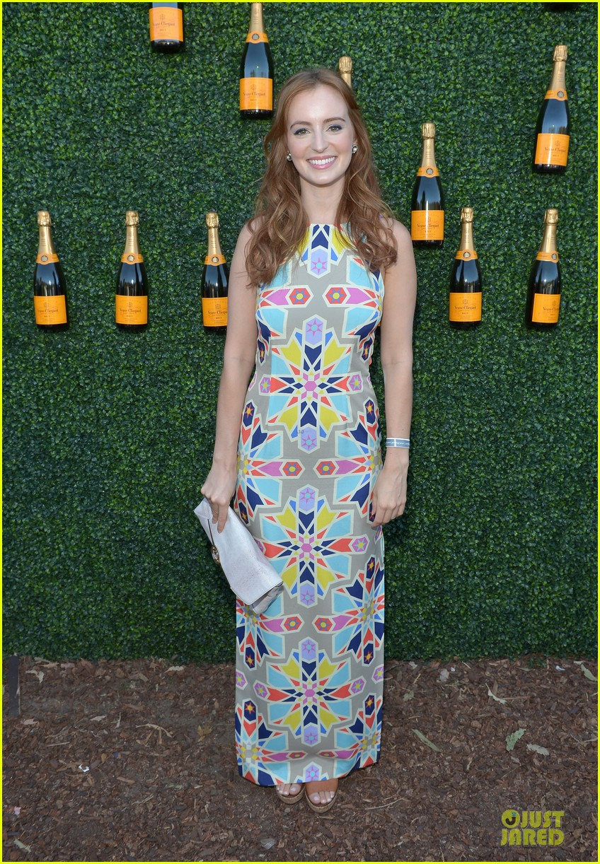 ashley madekwe holland roden veuve clicquot polo classic 2013 132966943