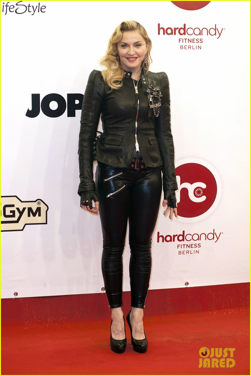 madonna hard candy fitness club opening in berlin 012973770