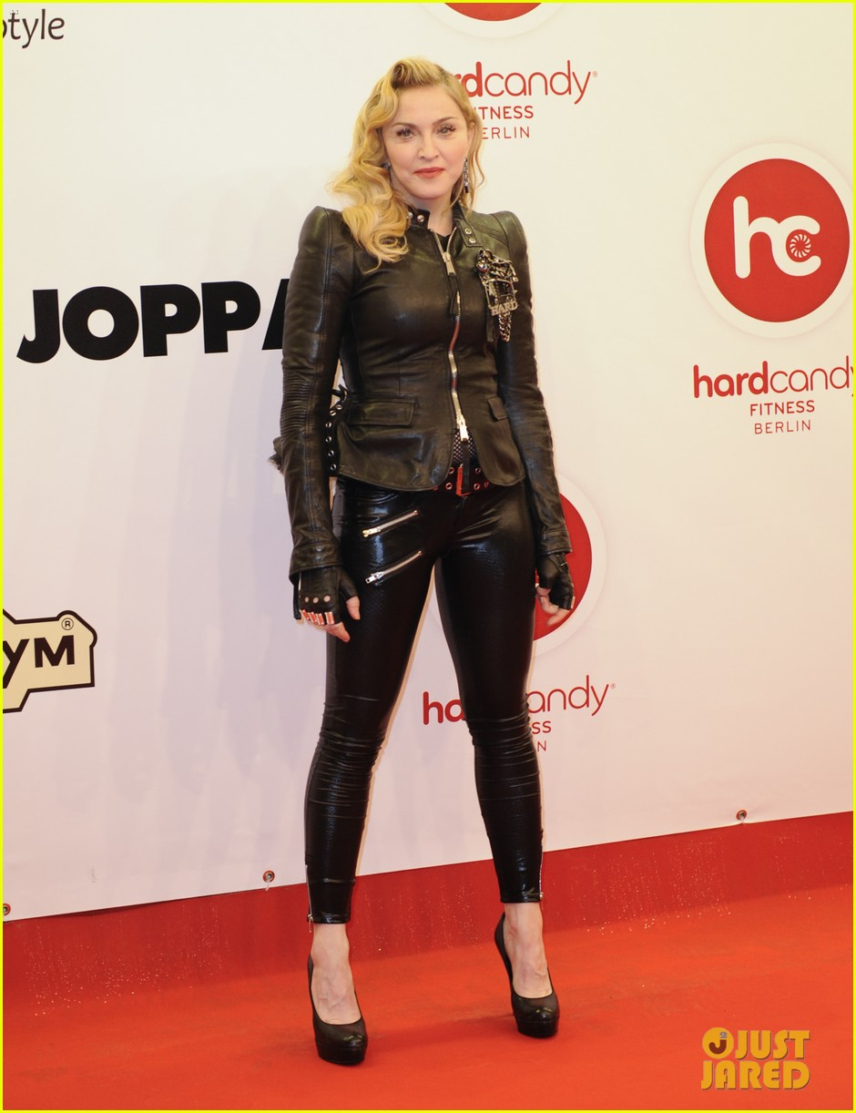madonna hard candy fitness club opening in berlin 02