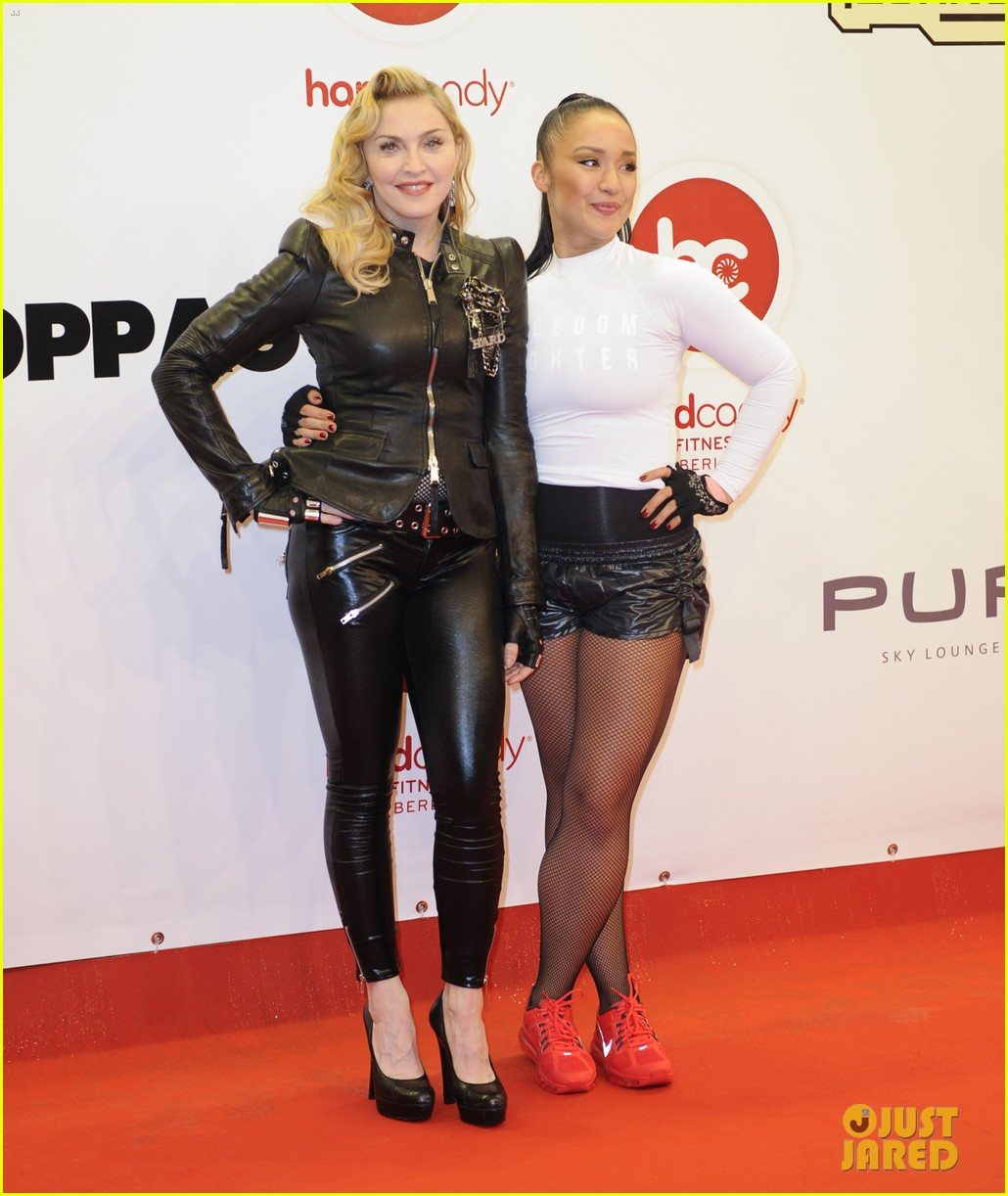 madonna hard candy fitness club opening in berlin 122973781