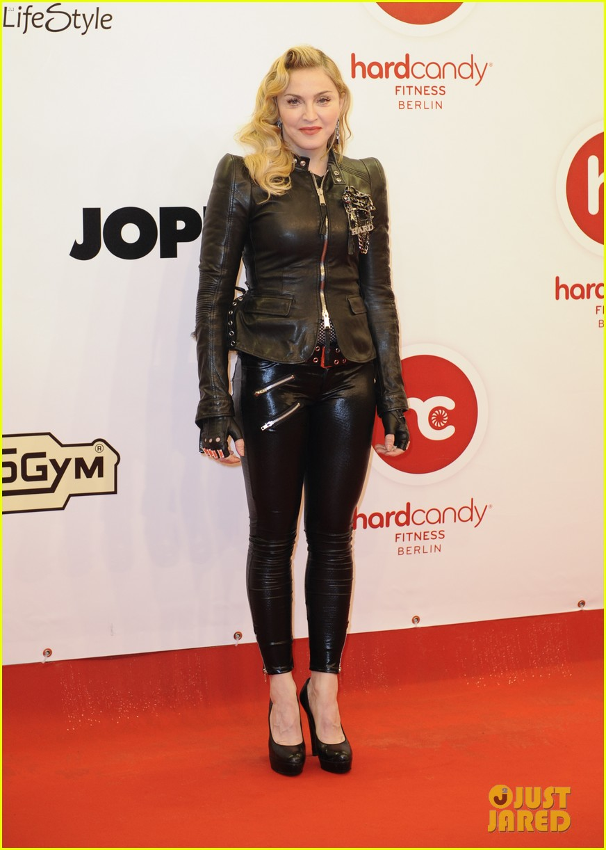 madonna hard candy fitness club opening in berlin 142973783
