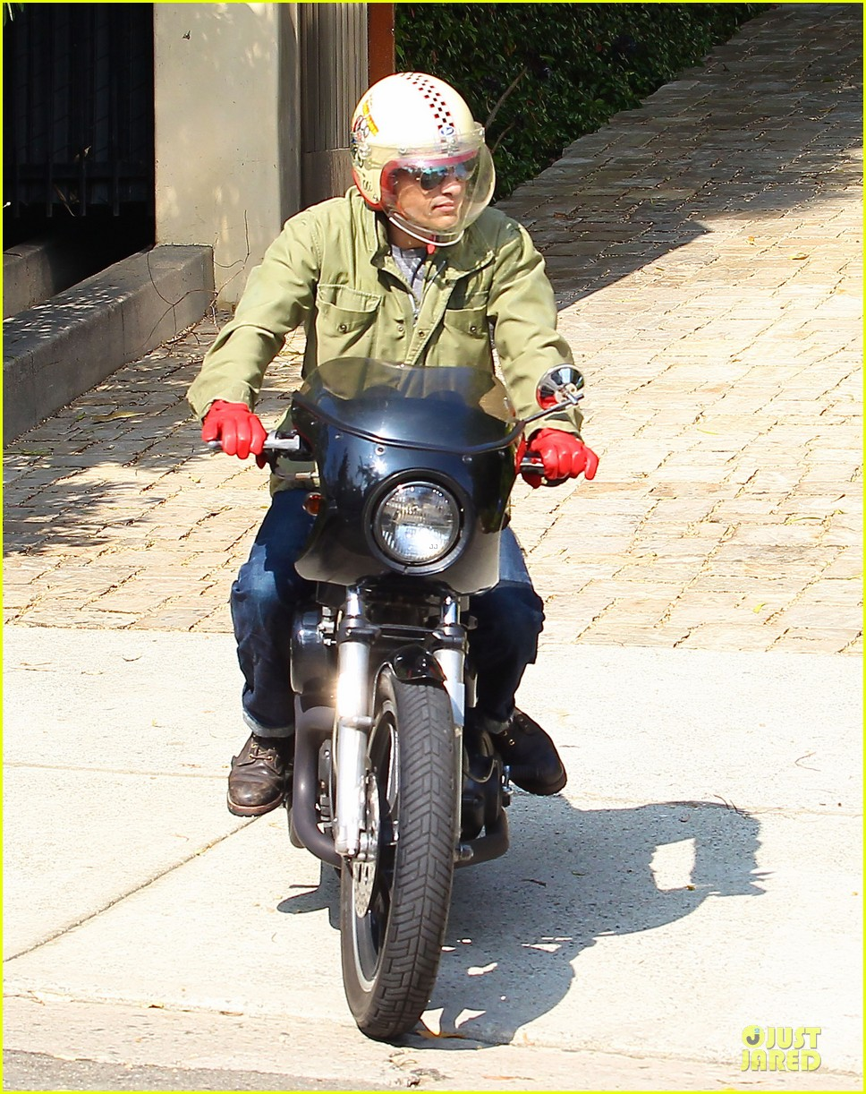 olivier martinez unstoppable motorcycle rider 192980376