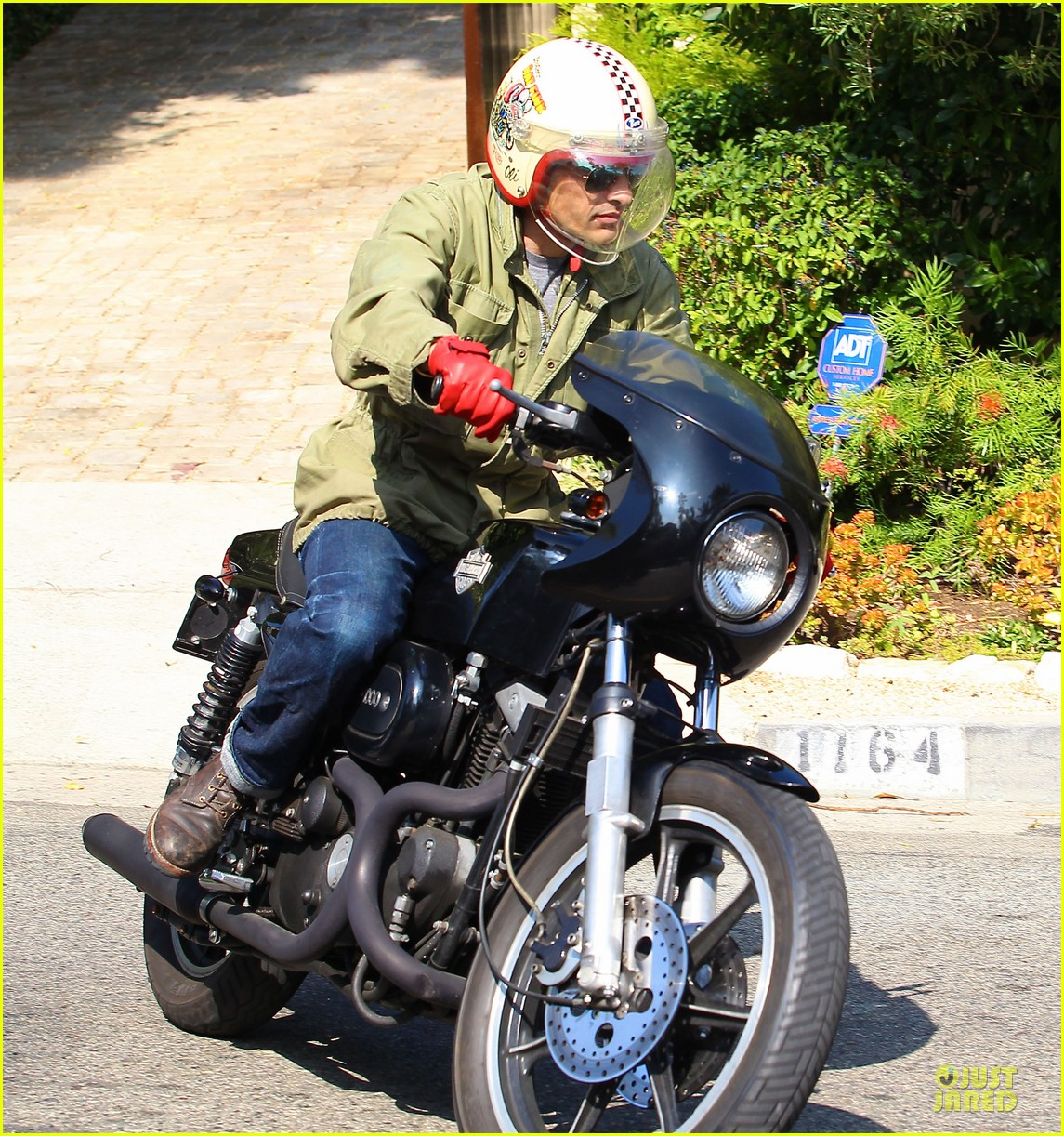 olivier martinez unstoppable motorcycle rider 212980378