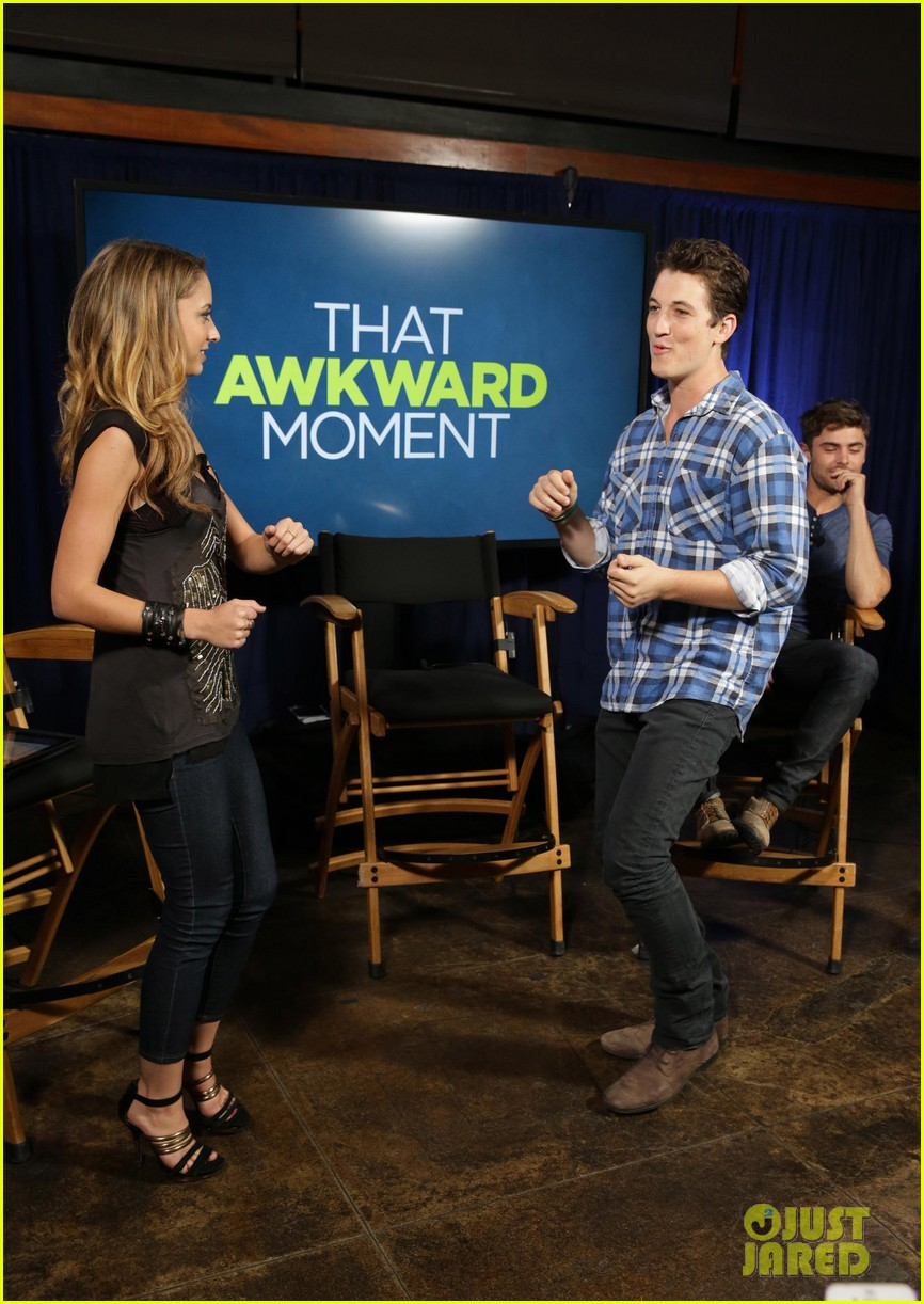 michael b jordan miles teller that awkward moment qa with zac efron 202973160