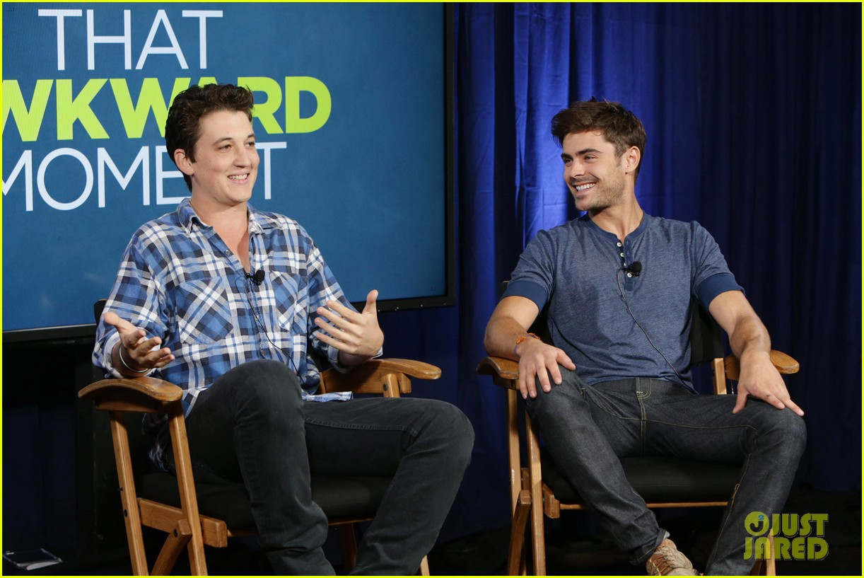 michael b jordan miles teller that awkward moment qa with zac efron 362973176