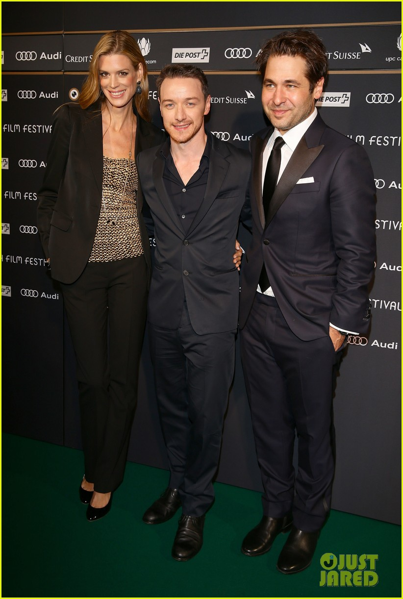 james mcavoy bella heathcote zurich film festival 2013 092965787