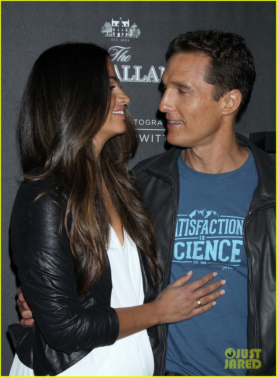 matthew mcconaughey camila alves macallan masters of photography debut 01
