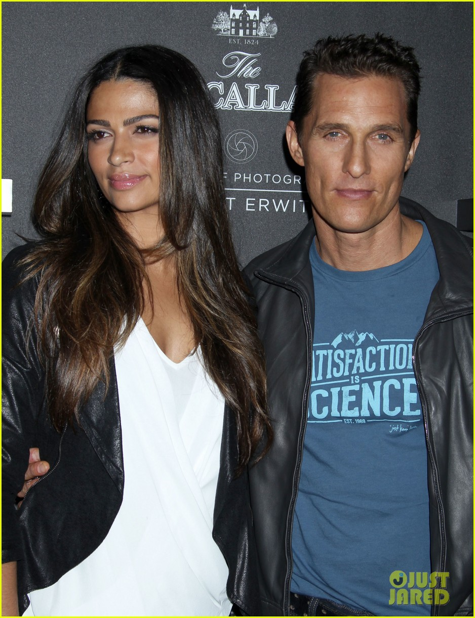 matthew mcconaughey camila alves macallan masters of photography debut 122979041
