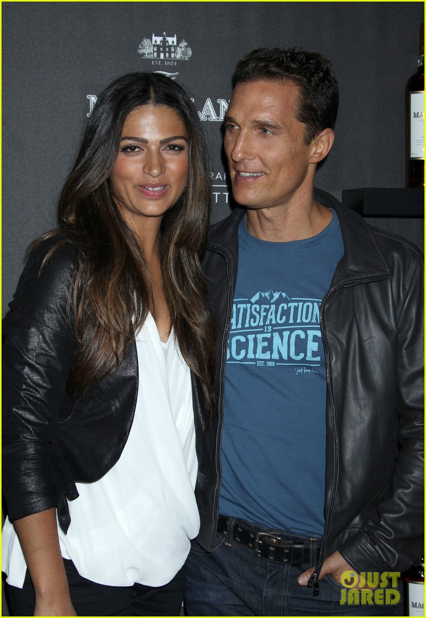 matthew mcconaughey camila alves macallan masters of photography debut 172979046