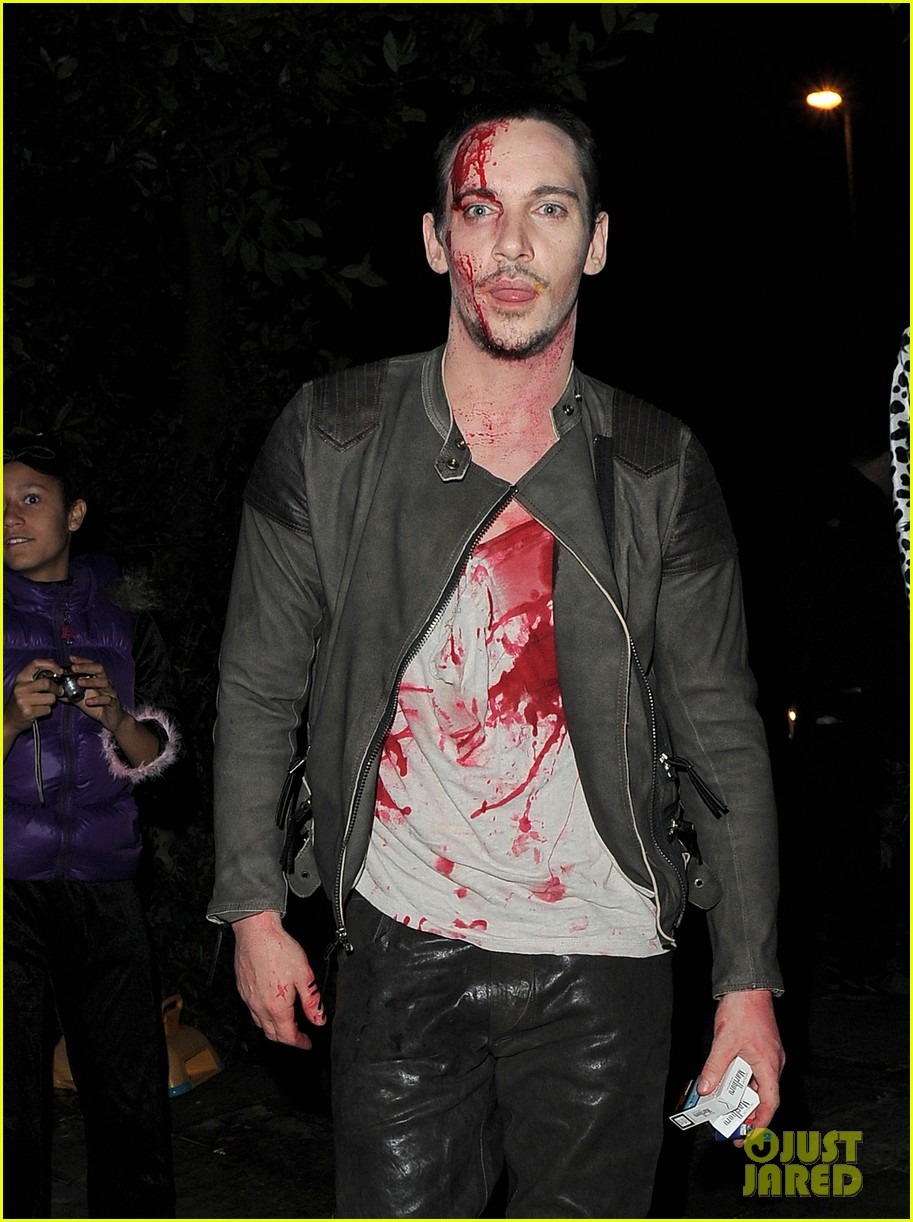 jonathan rhys meyers is bloody hot at halloween party 212984071