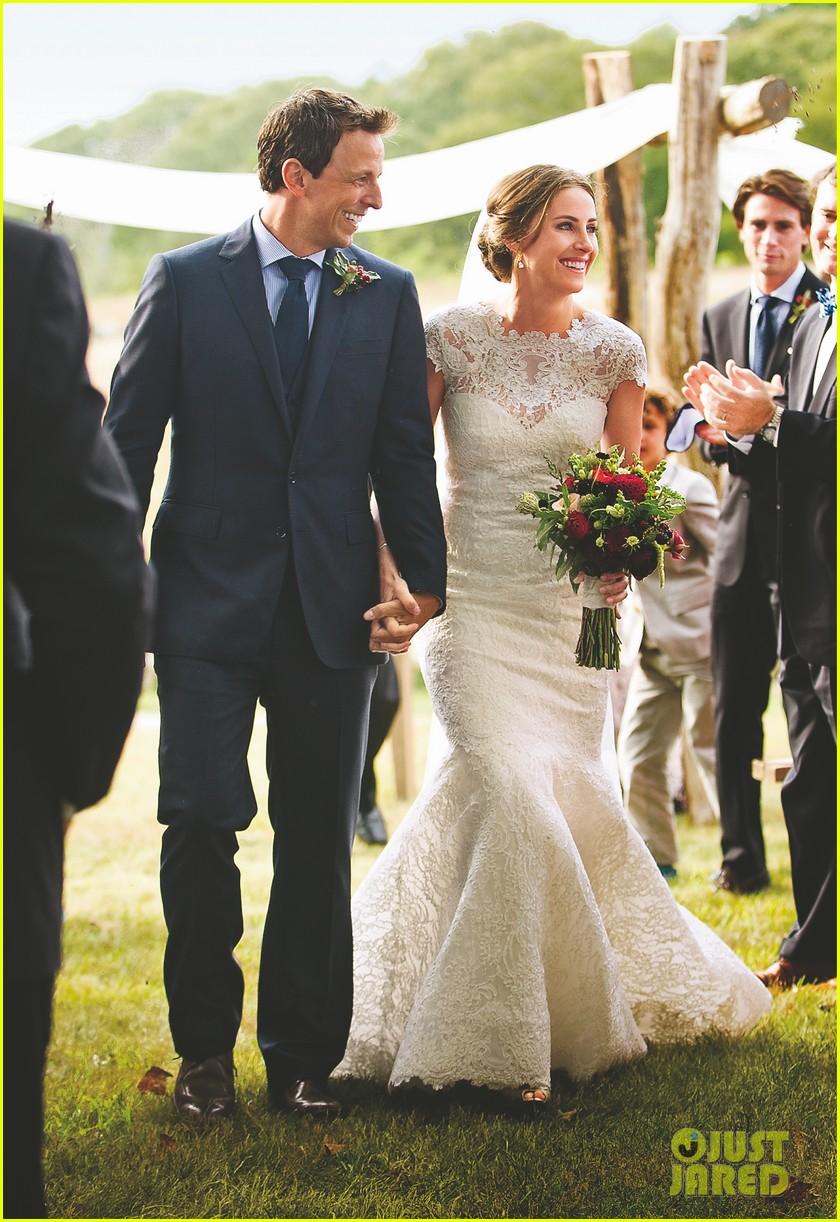 seth meyers wedding photos revealed 012978358