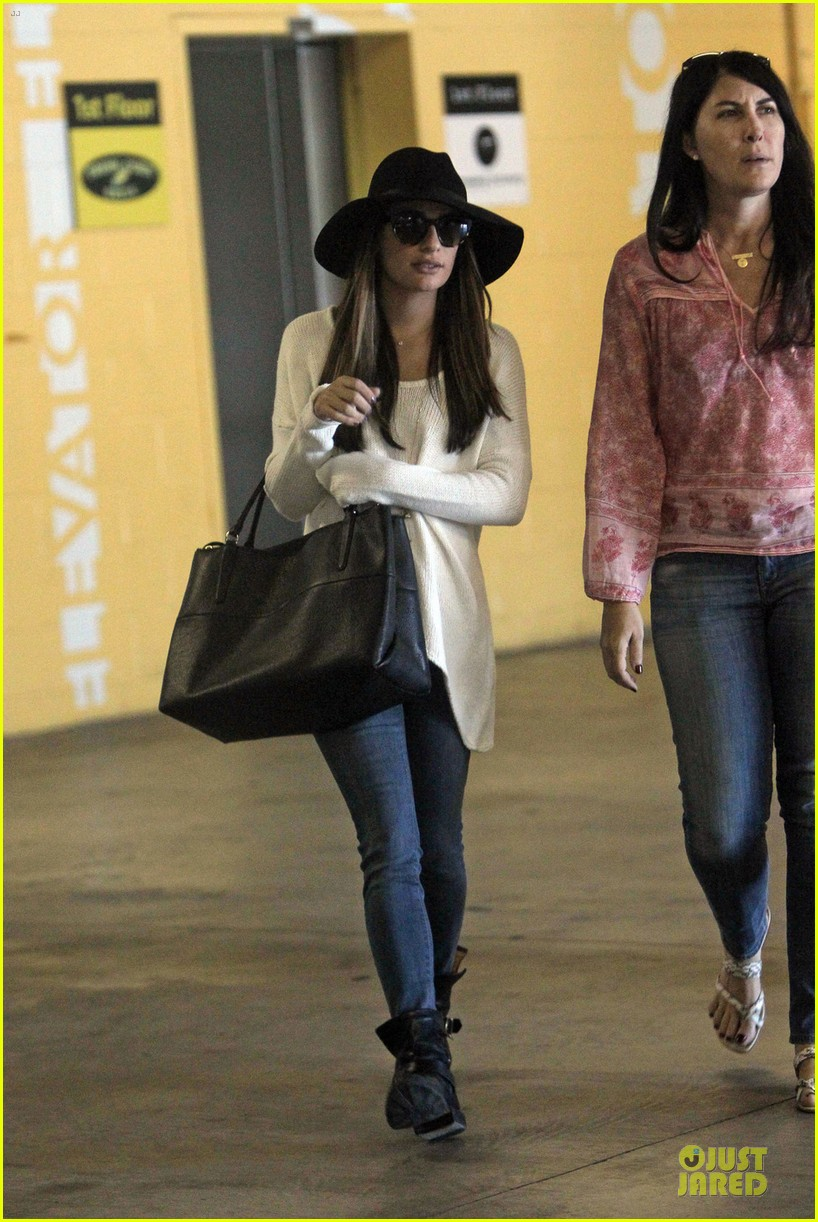 lea michele glee cory monteith farewell episode was rough 012966858