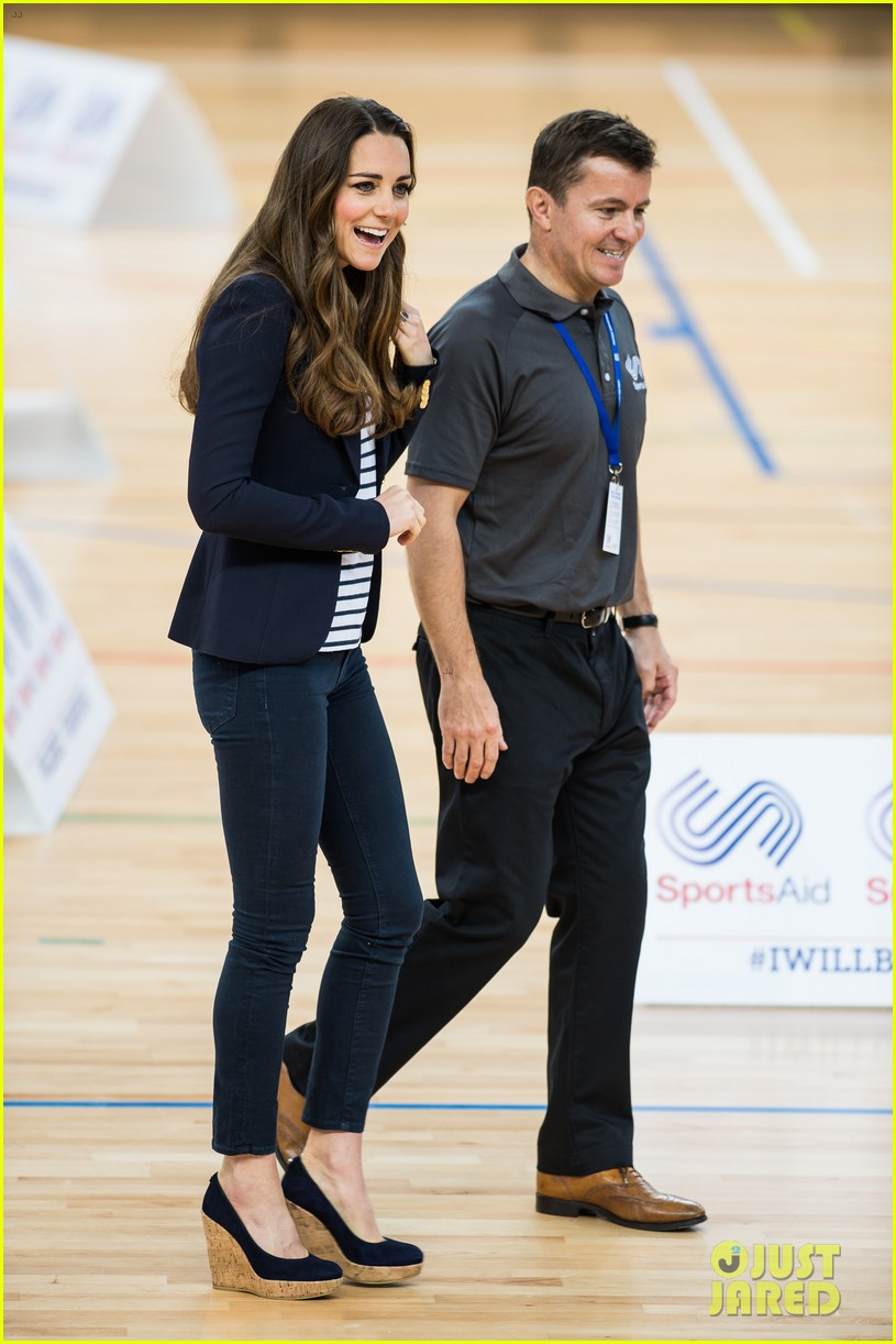 kate middleton sportaid athlete workshop visit 072974287