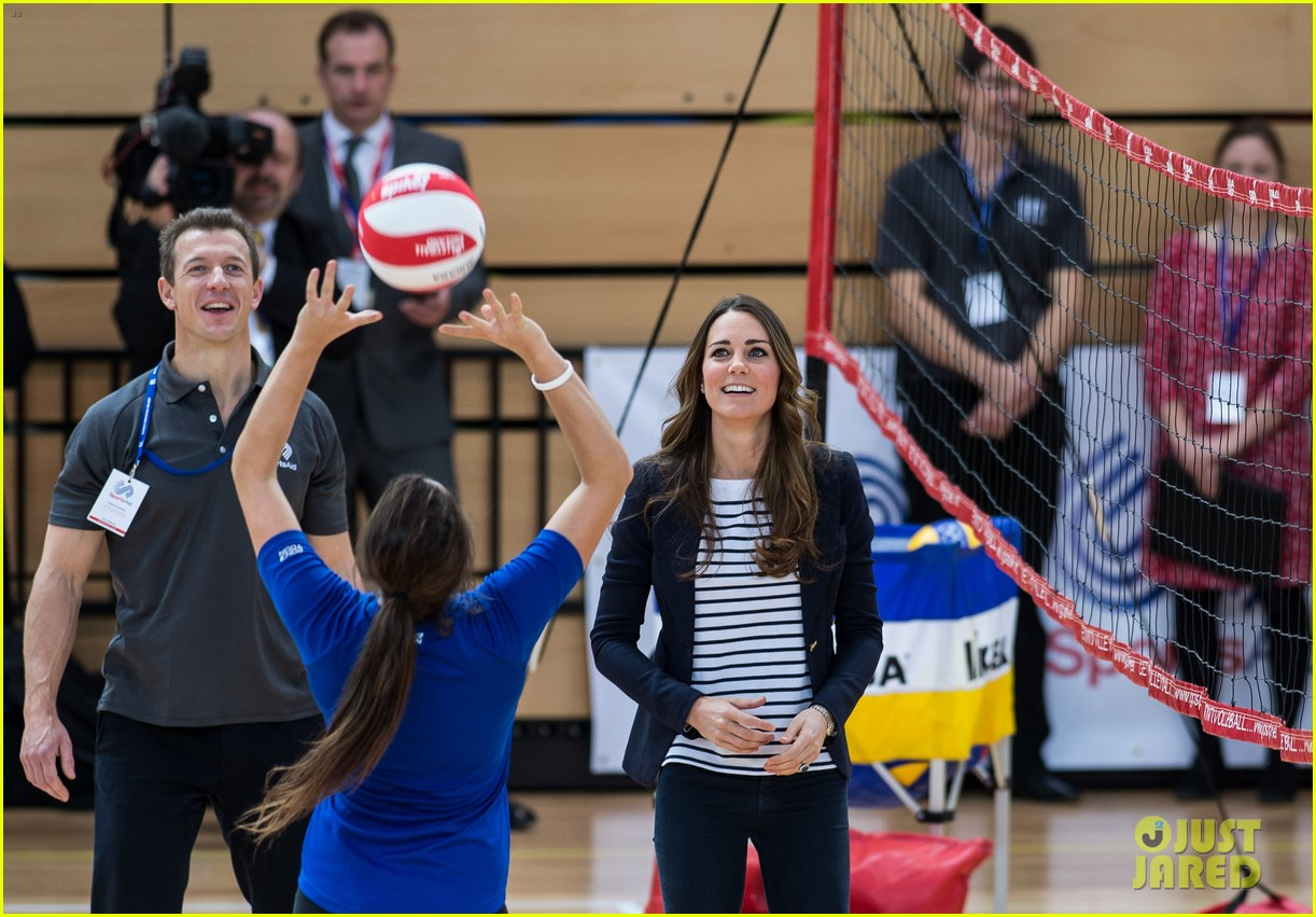 kate middleton sportaid athlete workshop visit 13