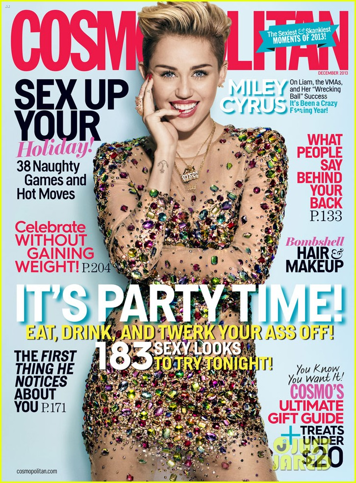 miley cyrus talks being single cosmo december 2013 01