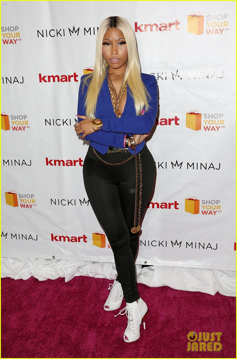 nicki minaj kmart collection shop your way event 012972534