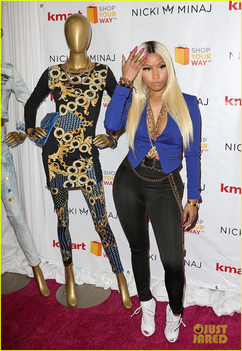 nicki minaj kmart collection shop your way event 032972536