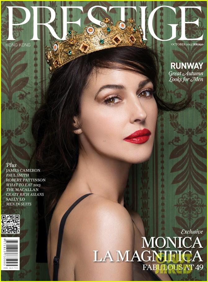 monica bellucci covers prestige hong kong october 2013 012968408