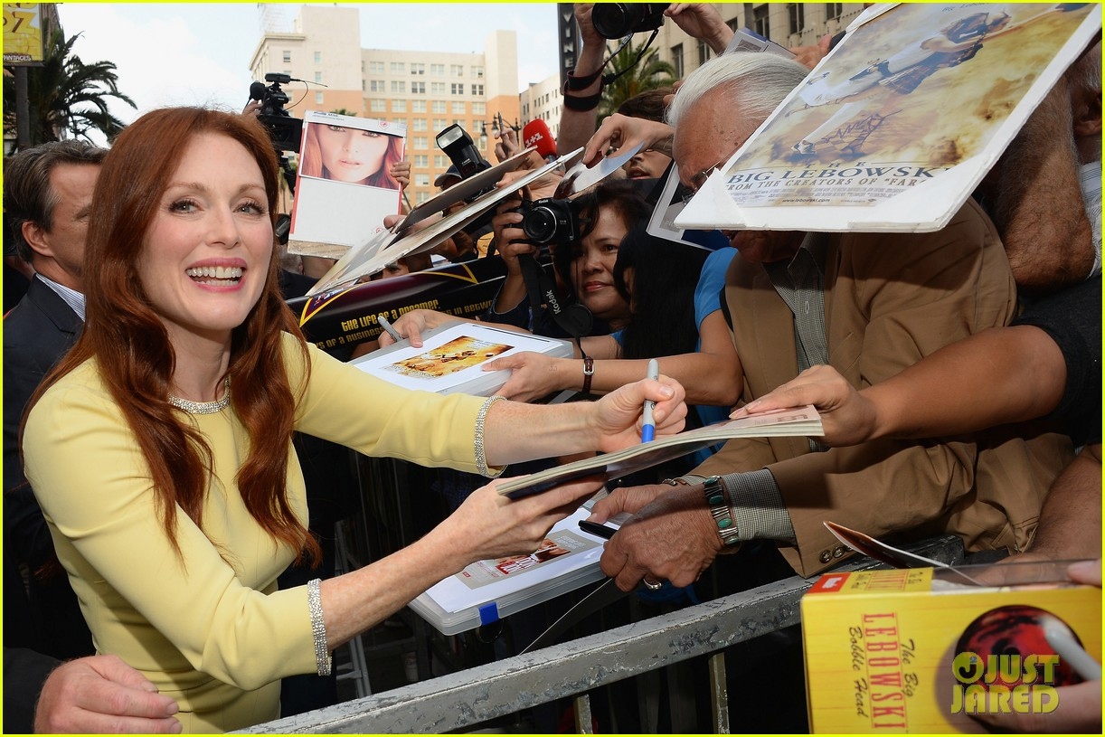 julianne moore hollywood walk of fame ceremony 122965331