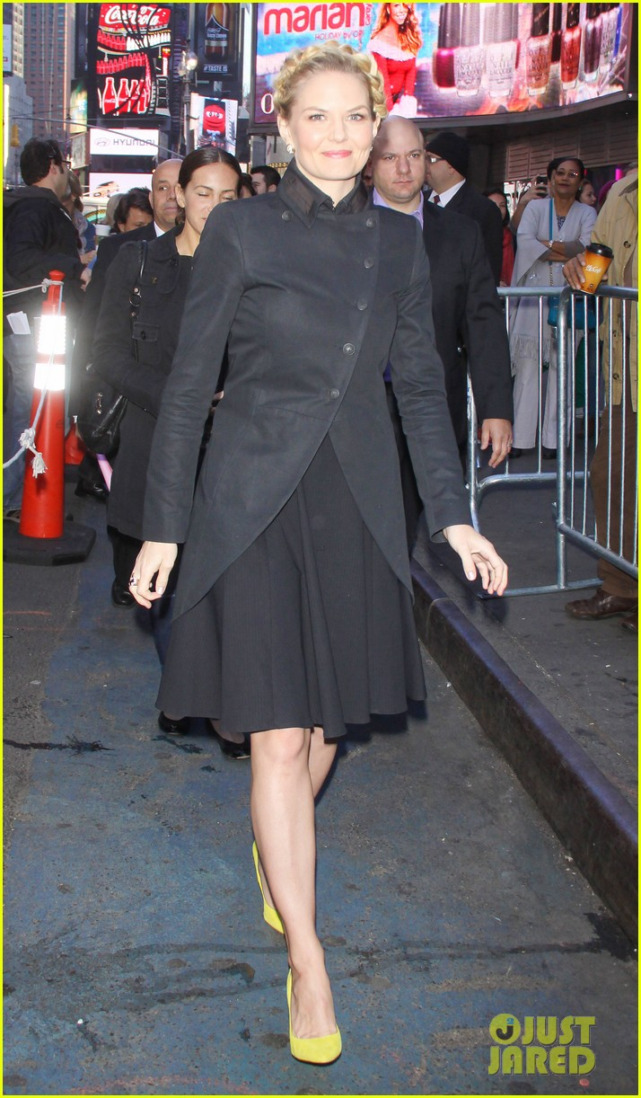 jennifer morrison promotes once upon a time in nyc 062976945