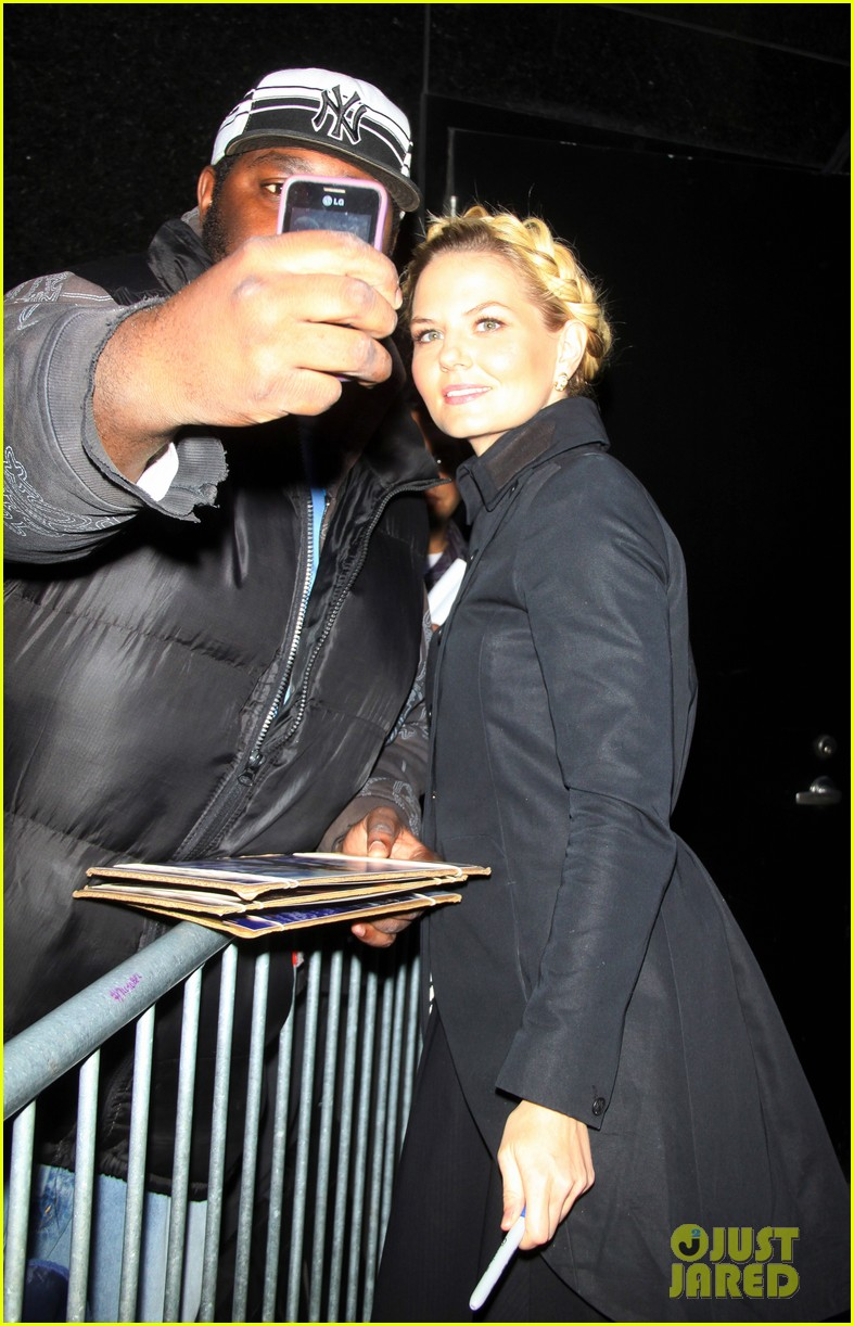 jennifer morrison promotes once upon a time in nyc 122976951